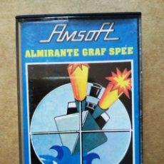 Videojuegos y Consolas: JUEGO AMSTRAD AMSOFT: ALMIRANTE GRAF SPEE (1985). AMC 118. AMSTRAD ESPAÑA/INDESCOMP. Lote 187180583