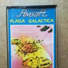 Videojuegos y Consolas: JUEGO AMSTRAD AMSOFT: PLAGA GALÁCTICA (1985). AMC 125. AMSTRAD ESPAÑA/INDESCOMP. Lote 187180975