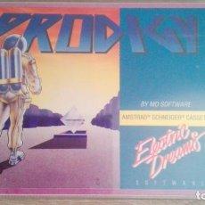 Videojuegos y Consolas: PRODIGY-AMSTRAD CASSETTE-ELECTRIC DREAMS-AÑO 1986-DIFICIL-MUY BUEN ESTADO.. Lote 187420998