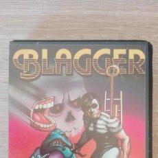 Videojuegos y Consolas: BLAGGER-AMSTRAD CASSETTE-ESTUCHE NEGRO PVC-ALLIGATA-AÑO 1984-MUY DIFICIL-MUY BUEN ESTADO.. Lote 187422723