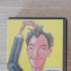 Videojuegos y Consolas: SWEEVO,S WORLD-AMSTRAD CASSETTE-ESTUCHE NEGRO PVC-GARGOYLE G.-AÑO 1985-MUY DIFICIL-MUY BUEN ESTADO.. Lote 187425955