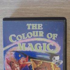 Videojuegos y Consolas: THE COLOUR OF MAGIC-AMSTRAD CASSETTE-ESTUCHE NEGRO PVC-DELTA 4-AÑO 1986.DIFICILISIMO-JOYA.. Lote 187427370