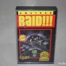 Videojuegos y Consolas: JUEGO RAID. AÑO 1985. Lote 189178740