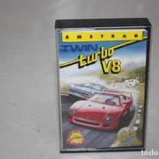 Videojuegos y Consolas: JUEGO DE CARRERA TURBO V8. AÑO 1989.. Lote 189193843