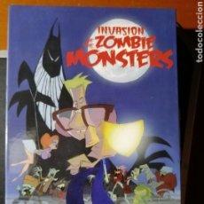Videojuegos y Consolas: JUEGO INVASIÓN OF THE ZOMBIES MONSTER EN CINTA PARA AMSTRAD CPC. Lote 189301661