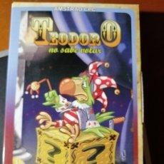 Videojuegos y Consolas: JUEGO TEODORO NO SABE VOLAR EN CINTA PARA AMSTRAD CPC. Lote 189301850