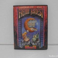 Videojuegos y Consolas: JUEGO AMSTRAD CPC DISCO, FREDDY HARDEST, DINAMIC, ESTUCHE. Lote 190460758