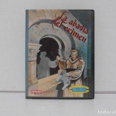 Videojuegos y Consolas: JUEGO AMSTRAD CPC DISCO, LA ABADIA DEL CRIMEN, ESTUCHE, OPERA SOFT, MYSTER CHIP. Lote 190463100