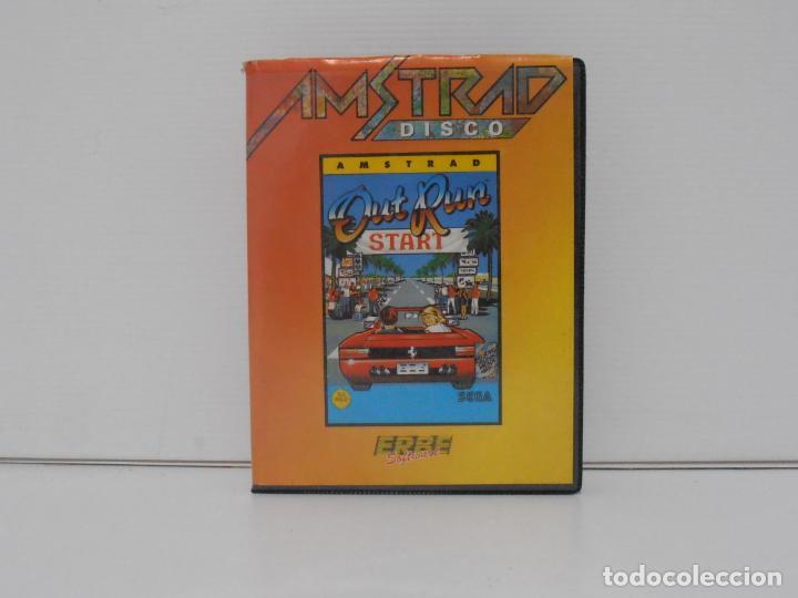 JUEGO AMSTRAD CPC DISCO, OUT RUN, ESTUCHE, ERBE SOFTWARE (Juguetes - Videojuegos y Consolas - Amstrad)
