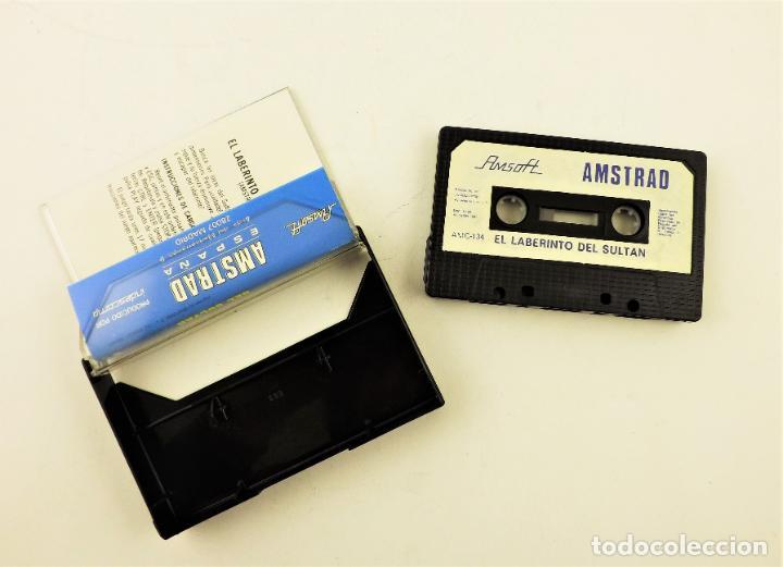 Videojuegos y Consolas: Amstrad El Laberinto del sultan Amsoft - Foto 2 - 190464158