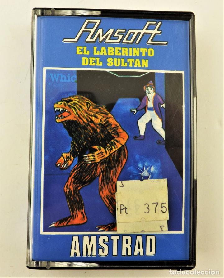 AMSTRAD EL LABERINTO DEL SULTAN AMSOFT (Juguetes - Videojuegos y Consolas - Amstrad)