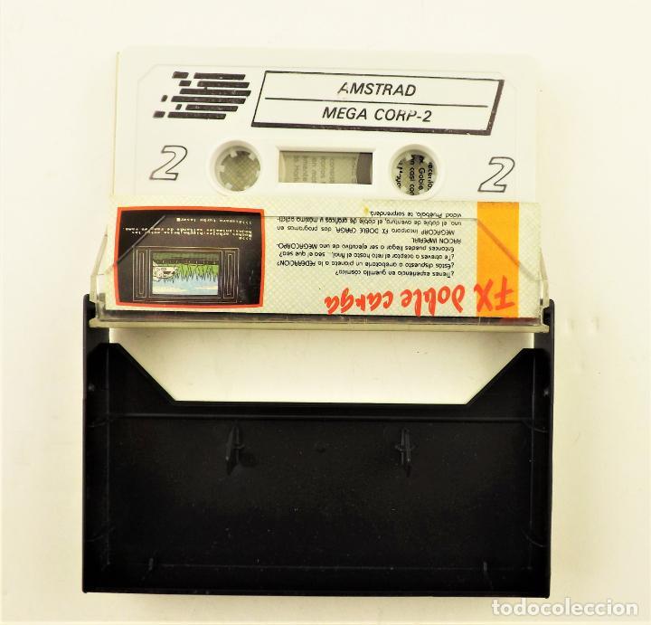 Videojuegos y Consolas: Amstrad CPC Juego Mega Corp - Foto 2 - 190464478