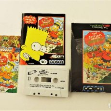 Videojuegos y Consolas: JUEGO PARA AMSTRAD CPC THE SIMPSONS BART VS THE SPACE MUTANTS. Lote 190467330