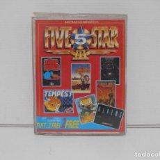 Videojuegos y Consolas: JUEGO AMSTRAD CPC DISCO, FIVE STAR III, TEMPEST, EXPLODING FIST, TRAP DOOR, ALIENS, FIRE LORD, STRIK. Lote 190474710