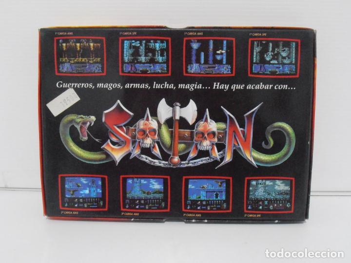 Videojuegos y Consolas: JUEGO AMSTRAD CPC DISCO,SATAN, CAJA CARTON, DINAMIC - Foto 3 - 190723767