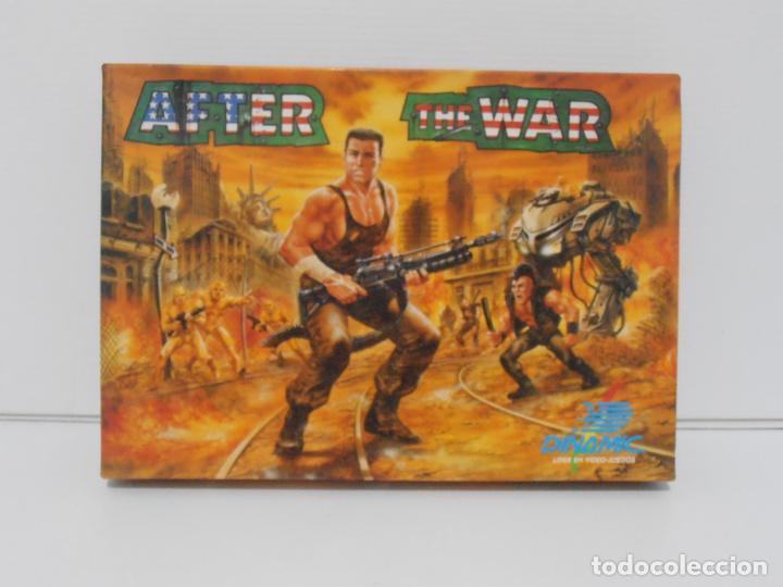 JUEGO AMSTRAD CPC DISCO,AFTER THE WAR, CAJA CARTON, DINAMIC (Juguetes - Videojuegos y Consolas - Amstrad)