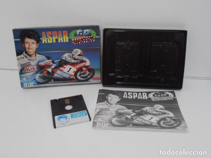 Videojuegos y Consolas: JUEGO AMSTRAD CPC DISCO, ASPAR GP MASTER, CAJA CARTON, DINAMIC - Foto 2 - 190724315