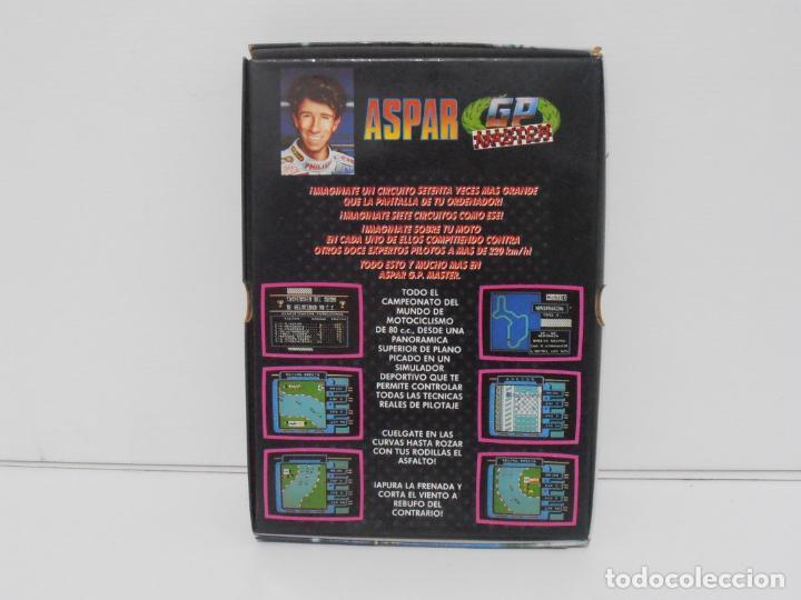 Videojuegos y Consolas: JUEGO AMSTRAD CPC DISCO, ASPAR GP MASTER, CAJA CARTON, DINAMIC - Foto 3 - 190724315