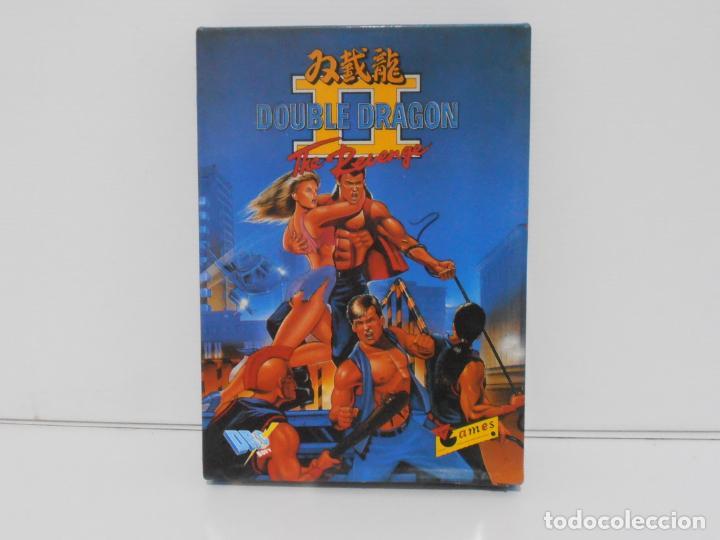 JUEGO AMSTRAD CPC DISCO, DOUBLE DRAGON THE REVENGE, CAJA CARTON, DRC SOFT (Juguetes - Videojuegos y Consolas - Amstrad)