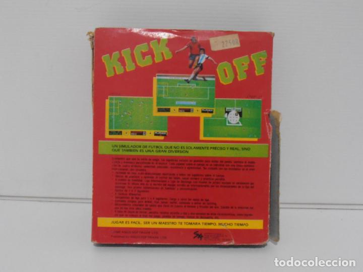 Videojuegos y Consolas: JUEGO AMSTRAD CPC DISCO, KICK OFF, CAJA CARTON, ANCO - Foto 3 - 190724578