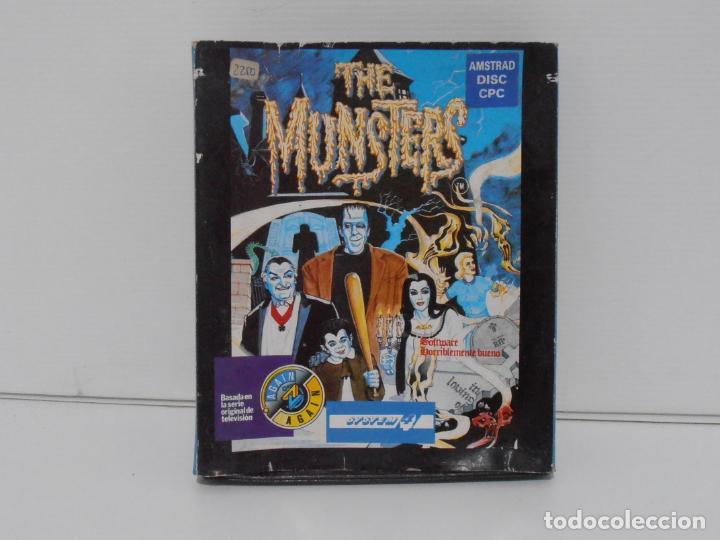 JUEGO AMSTRAD CPC DISCO, THE MUNSTERS, CAJA CARTON, SYSTEM 4 (Juguetes - Videojuegos y Consolas - Amstrad)