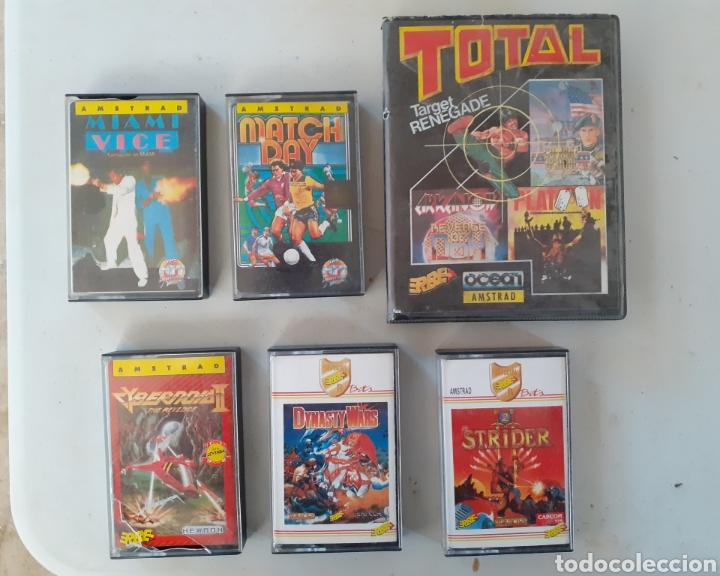LOTE DE JUEGOS AMSTRAD ANTIGUOS (Juguetes - Videojuegos y Consolas - Amstrad)