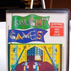 Videojuegos y Consolas: JUEGO KNIGHT GAMES AMSTRAD CINTA. AÑO 1986. Lote 191540792