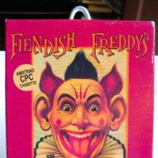 Videojuegos y Consolas: JUEGO FIENDISH FREDDY'S CINTA. AÑO 1990. Lote 191541547