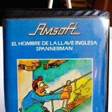 Videojuegos y Consolas: JUEGO EL HOMBRE DE LA LLAVE INGLESA . SPANNERMAN AMSTRAD CINTA. AÑO 1984. Lote 191542330