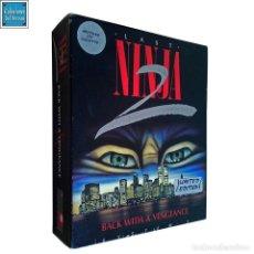 Videojuegos y Consolas: LAST NINJA 2 / JUEGO AMSTRAD CPC CINTA / SYSTEM 3 1988 (LIMITED EDITION). Lote 192049762