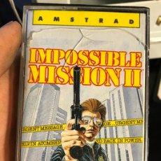 Videojogos e Consolas: IMPOSSIBLE MISSION II 2 / MISION IMPOSIBLE II 2 / JUEGO AMSTRAD CPC CINTA / ESPAÑOL / ERBE 1987. Lote 192749721