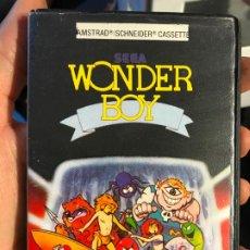 Videojogos e Consolas: AMSTRAD. JUEGO CON ESTUCHE: WONDER BOY (ACTIVISION) - AÑO 1987. Lote 192750242