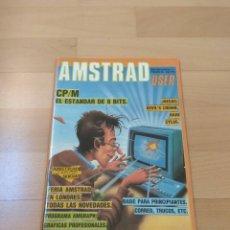 Videojuegos y Consolas: REVISTA ORDENADORES AMSTRAD USER NUMERO 5 MUY BUEN ESTADO 464 6128. Lote 193052811