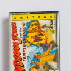 Videojuegos y Consolas: JUEGO INDIANA JONES AND THE TEMPLE OF DOOM AMSTRAD ORDENADOR CINTA 1987. Lote 193247035