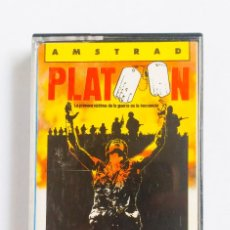 Videojuegos y Consolas: JUEGO PLATOON AMSTRAD ORDENADOR CINTA 1987. Lote 193247411