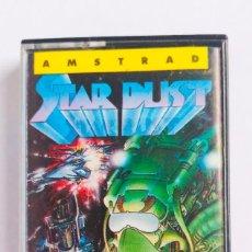 Videojuegos y Consolas: JUEGO STARDUST AMSTRAD ORDENADOR CINTA 1987. Lote 193247521