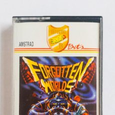 Videojuegos y Consolas: JUEGO FORGOTTEN WORLDS AMSTRAD ORDENADOR CINTA 1989. Lote 193248117