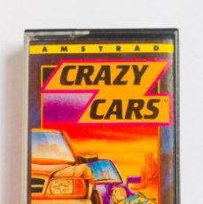 Videojuegos y Consolas: JUEGO CRAZY CARS AMSTRAD ORDENADOR CINTA 1989. Lote 193248307