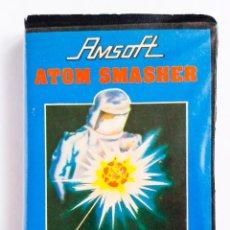 Videojuegos y Consolas: JUEGO ATOM SMASHER AMSOFT AMSTRAD ORDENADOR CINTA 1984. Lote 193438157