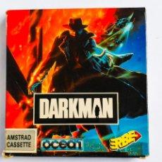 Videojuegos y Consolas: JUEGO DARKMAN AMSTRAD ORDENADOR CINTA 1991. Lote 193438522