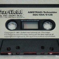 Videojuegos y Consolas: JUEGO CINTA AMSTRAD - GARFIELD.SOLO LA CINTA.. Lote 193662776