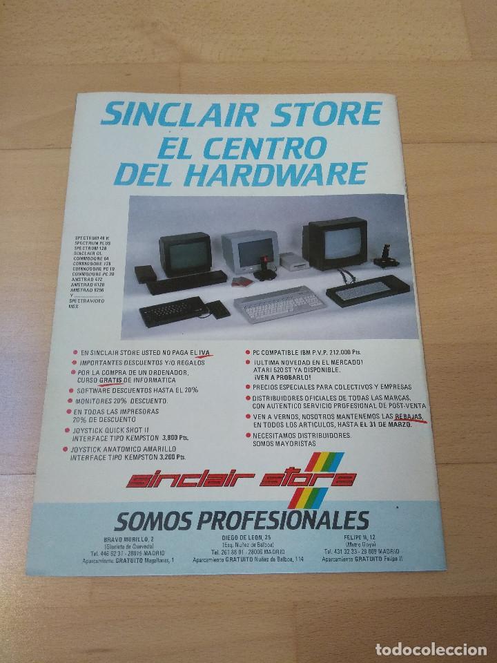 Videojuegos y Consolas: REVISTA ORDENADORES AMSTRAD SEMANAL NÚMERO 26 MICRO HOBBY BUEN ESTADO 464 6128 MICROHOBBY - Foto 3 - 193723272
