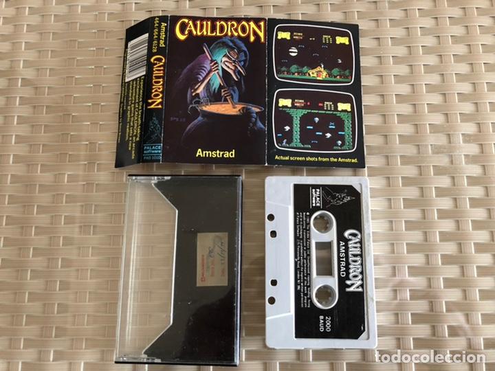 CAULDRON AMSTRAD CINTA (Juguetes - Videojuegos y Consolas - Amstrad)