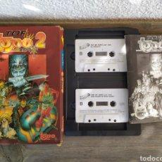 Videojuegos y Consolas: TOPO 2, JUEGO AMSTRAD. PACK 5 JUEGOS TOP LEY. 2 CASSETTES Y MANUAL DE INSTRUCCIONES.. Lote 194187773