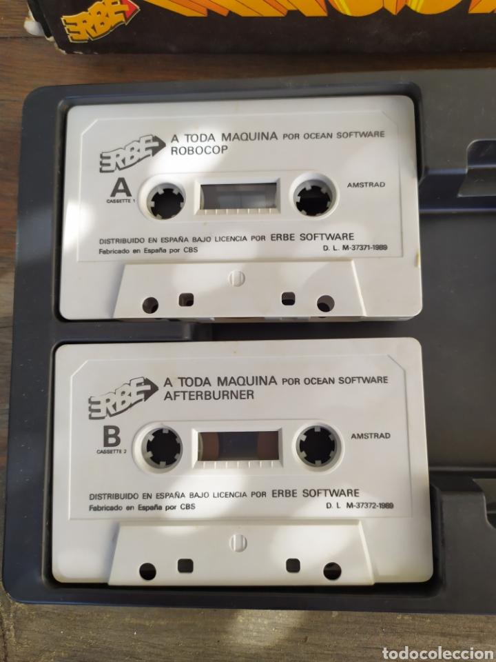 Videojuegos y Consolas: A toda maquina, juego Amstrad. Pack de 5 juegos Batman, RoboCop, Rambo... - Foto 3 - 194188787