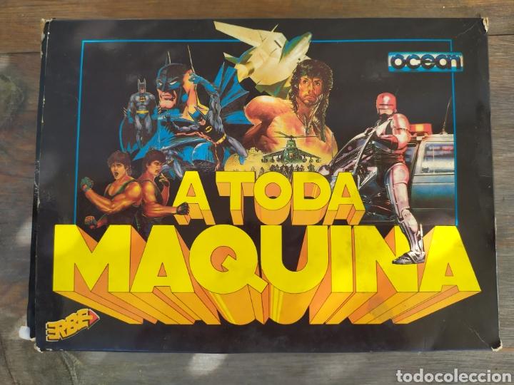Videojuegos y Consolas: A toda maquina, juego Amstrad. Pack de 5 juegos Batman, RoboCop, Rambo... - Foto 4 - 194188787