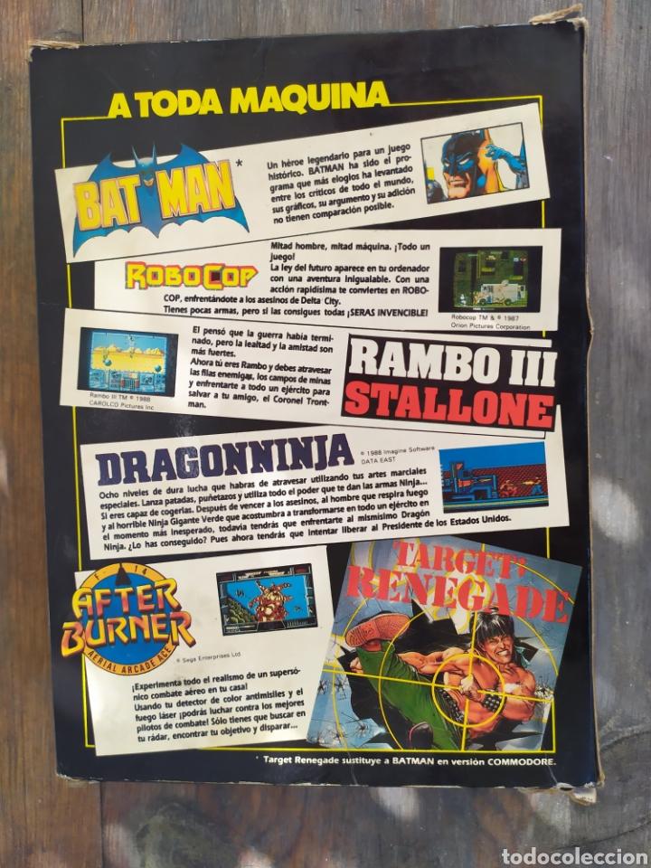Videojuegos y Consolas: A toda maquina, juego Amstrad. Pack de 5 juegos Batman, RoboCop, Rambo... - Foto 5 - 194188787