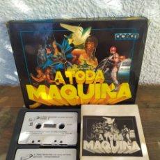 Videojuegos y Consolas: A TODA MAQUINA, JUEGO AMSTRAD. PACK DE 5 JUEGOS BATMAN, ROBOCOP, RAMBO.... Lote 194188787