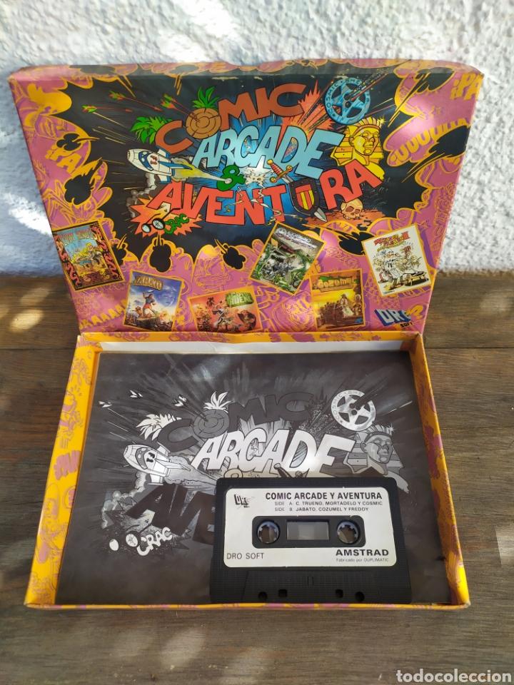 COMIC ARCADE AVENTURA , JUEGO AMSTRAD. PACK DE 6 JUEGOS. (Juguetes - Videojuegos y Consolas - Amstrad)