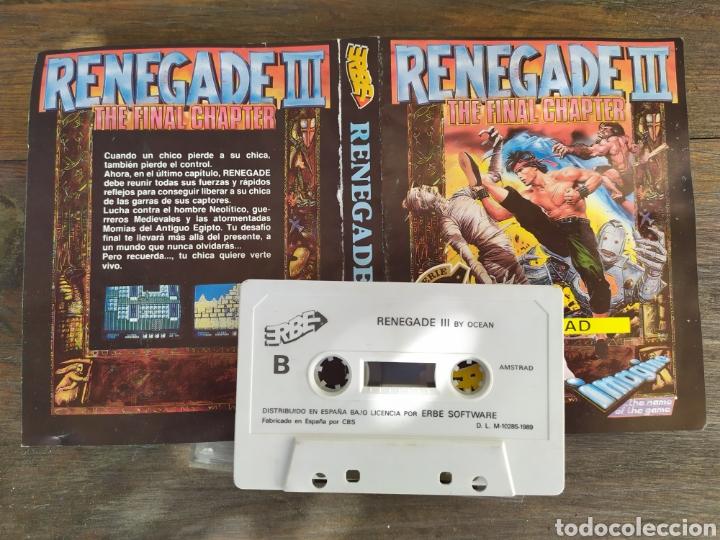 Videojuegos y Consolas: Renegade III. Juego Amstrad - Foto 3 - 194212323